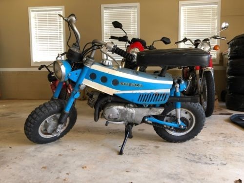 1972 Suzuki MT50 Blue photo