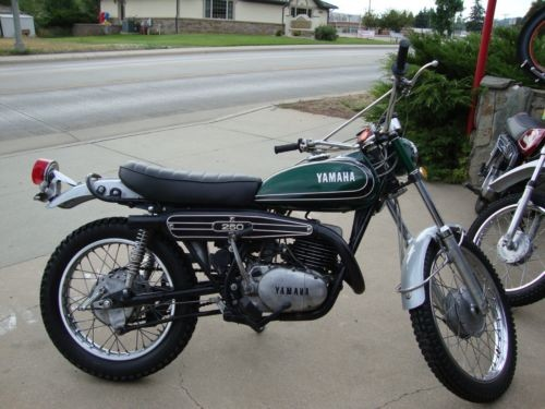 1972 Yamaha DT250 Green for sale