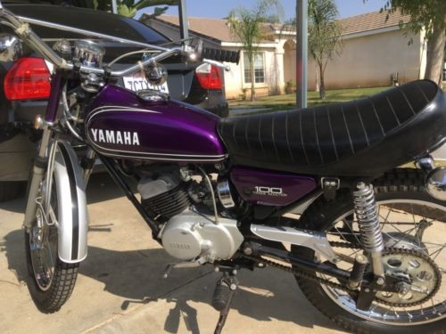 1972 Yamaha LT3 100 Purple photo