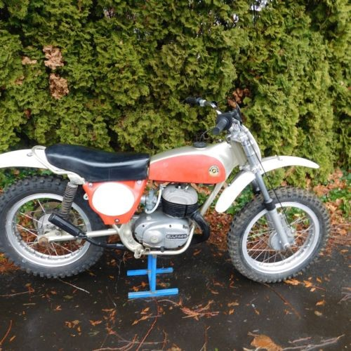1973 Bultaco Model 100 Red craigslist