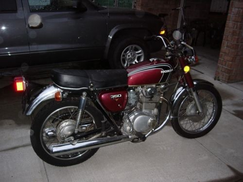 1973 Honda CB  photo