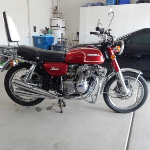 1973 Honda CB350FRE Red for sale craigslist