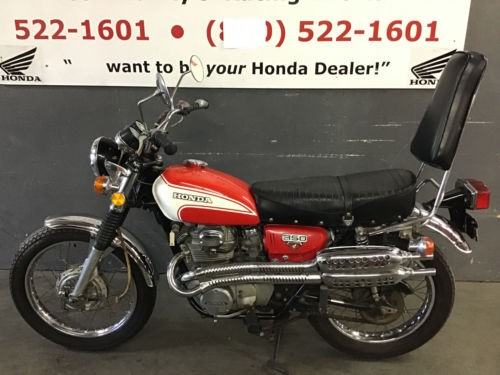 1973 Honda CL Red for sale