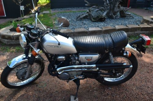 1973 Honda CL350 Gray for sale
