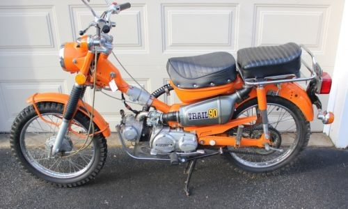 1973 Honda CT Mars Orange photo