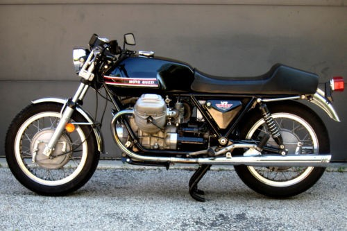1973 Moto Guzzi V7 Sport Black photo
