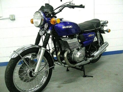 1973 Suzuki GT550K Indy Purple photo