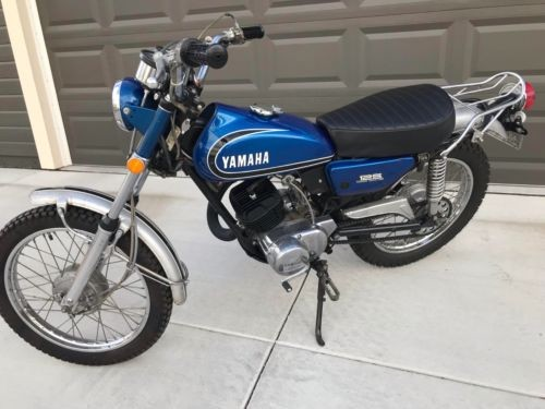 1973 Yamaha ENDURO AT-3 Blue photo