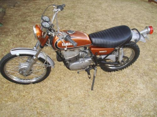 1973 Yamaha ENDURO Baja Brown craigslist