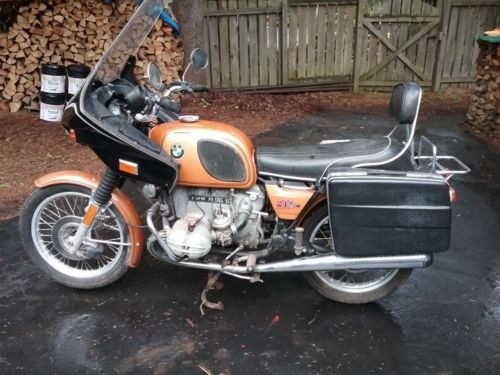 1974 BMW R-Series Original color - copper photo
