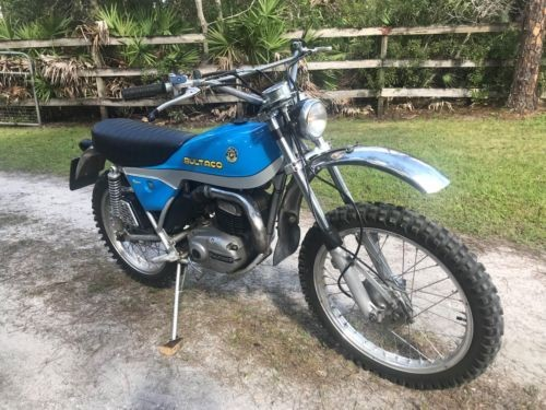 1974 Bultaco 250 Alpina Blue photo