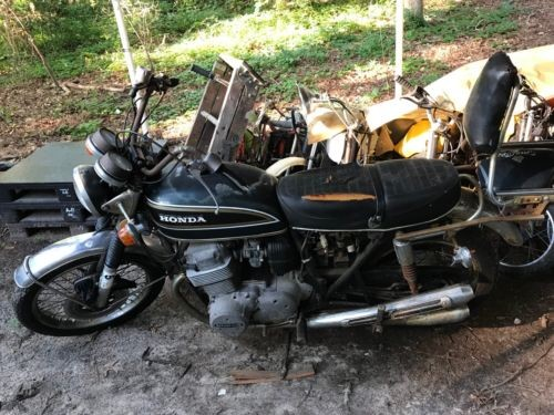 1974 Honda CB Black for sale craigslist