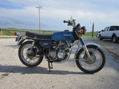 1974 Honda CB Blue for sale