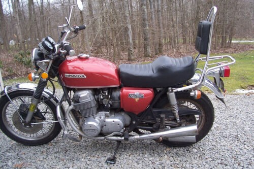 1974 Honda CB Burnt Orange/Red craigslist