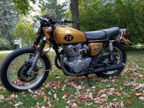 1974 Honda CB Gold photo