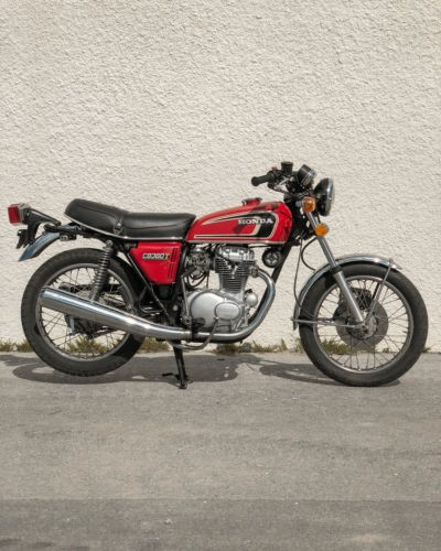 1974 Honda CB Red photo
