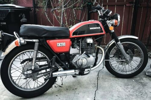 1974 Honda CB Red for sale craigslist