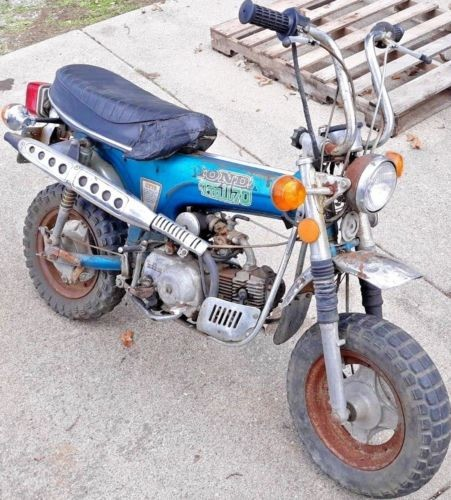 1974 Honda CT Blue for sale craigslist