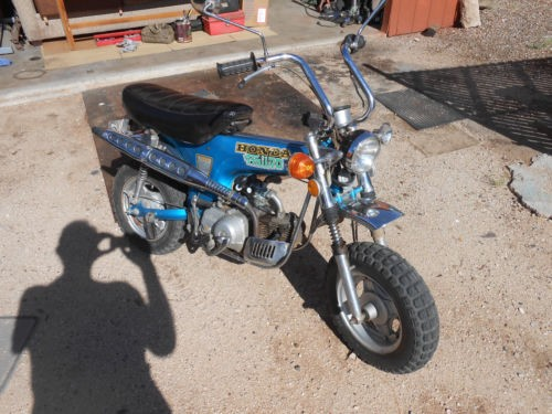 1974 Honda CT Blue for sale