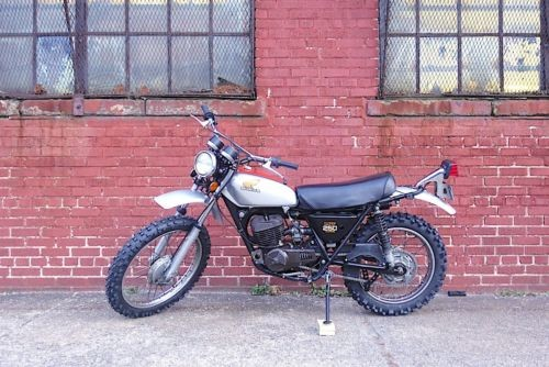 1974 Honda MT250 Gray photo