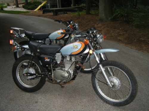 1974 Honda XL250 Orange for sale craigslist