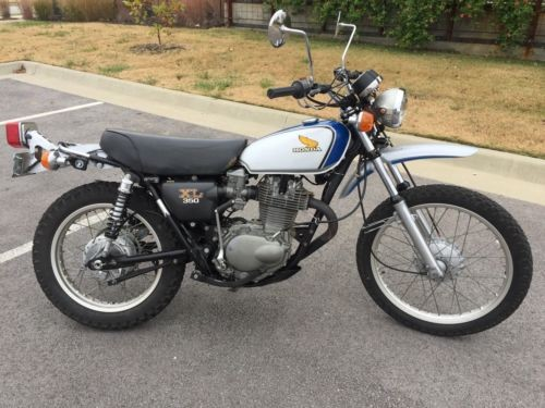 1974 Honda XL350 Silver for sale