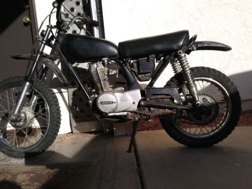 1974 Honda XR Grey photo