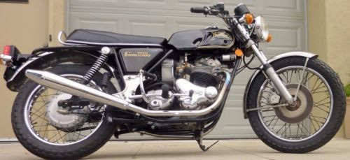 1974 Norton Commando Black photo