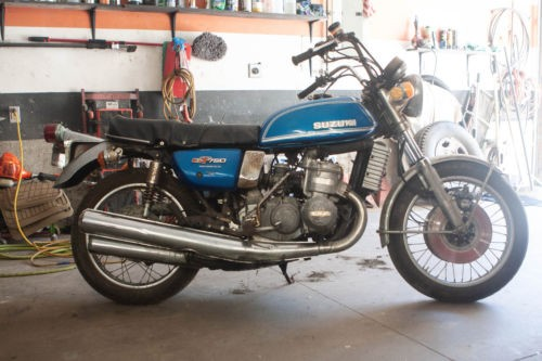 1974 Suzuki GT 750 WATER BUFFALO Blue for sale craigslist
