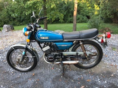 1974 Yamaha RD200 ELECTRIC Blue for sale craigslist