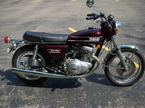 1974 Yamaha TX750 Burgundy for sale