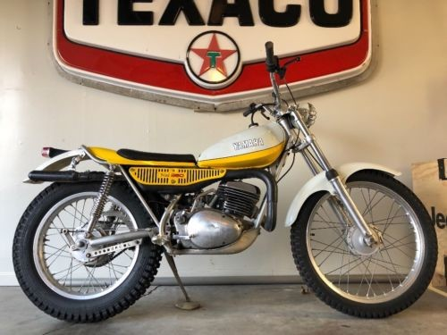 1974 Yamaha TY 250 Trials Yellow photo