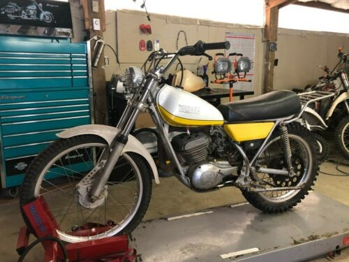 1974 Yamaha TY Yellow photo