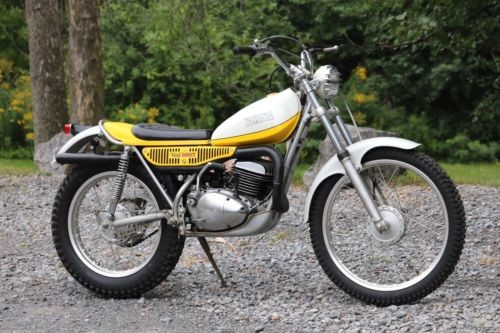 1974 Yamaha TY250 TRAILS Yellow for sale