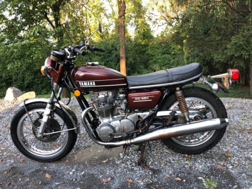 1974 Yamaha XS Burgundy for sale craigslist