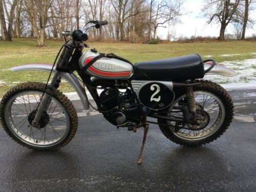 1974 Yamaha YZ Silver photo