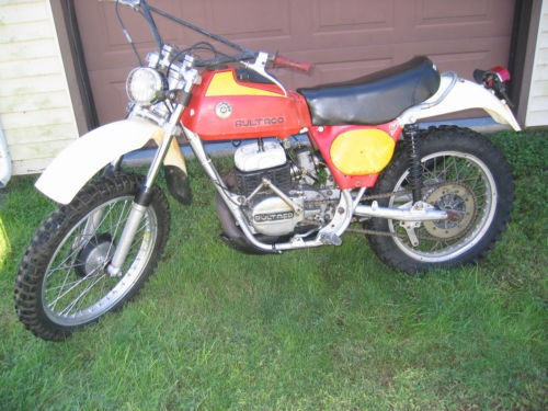 1975 Bultaco Frontera 143 Red & Yellow photo