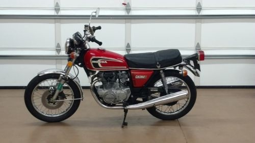 1975 Honda CB Red photo