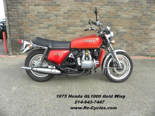 1975 Honda Goldwing Red craigslist