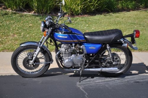 1975 Kawasaki KZ 400 Blue for sale