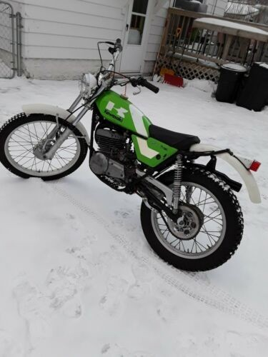 1975 Kawasaki Kt250 Trials Green for sale craigslist