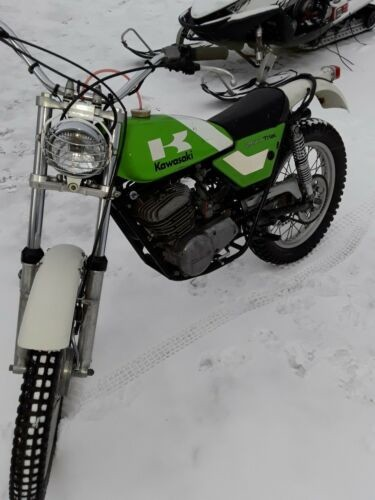 1975 Kawasaki Kt250 Green photo