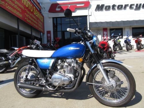 1975 Kawasaki Other Blue photo