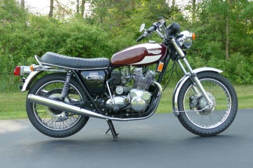 1975 Triumph T160 Trident Red for sale