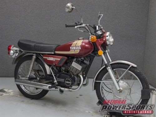 1975 Yamaha RD125 D MAROON photo
