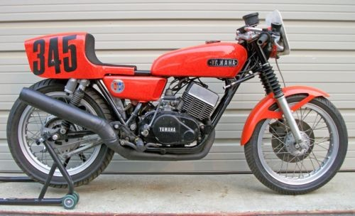 1975 Yamaha RD350 Orange photo