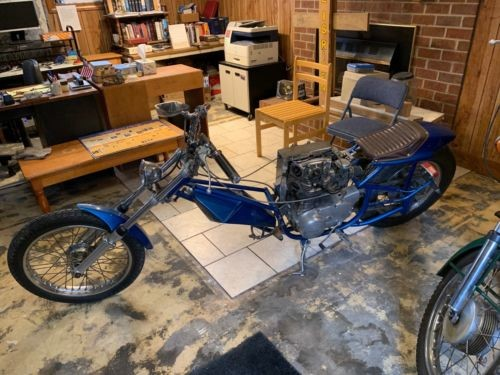 1975 Yamaha XS Blue photo