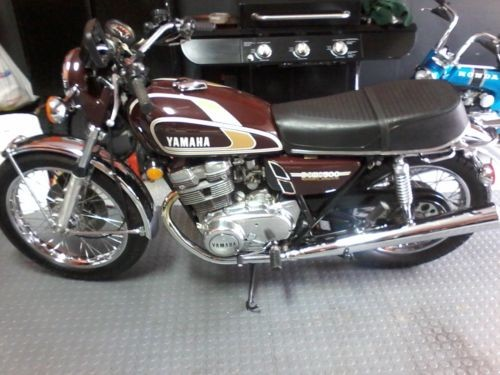 1975 Yamaha XS Brown photo