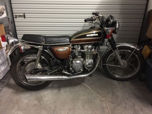 1976 Honda CB Brown photo
