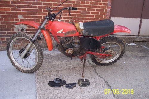1976 Honda CR RED for sale craigslist